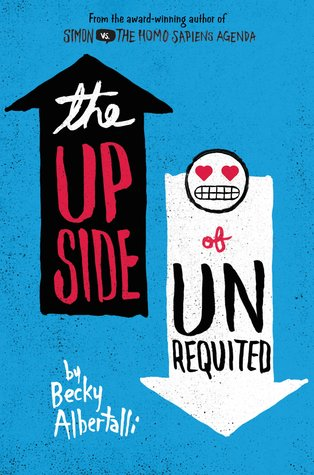 YA Book Club # 31: The Upside of Unrequited – Becky Albertalli