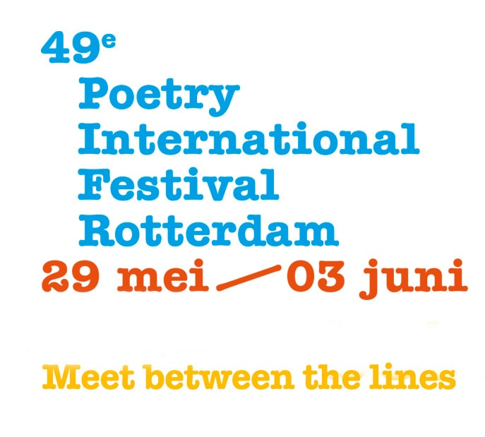 49ste Poetry International Festival Rotterdam: Meet between the lines