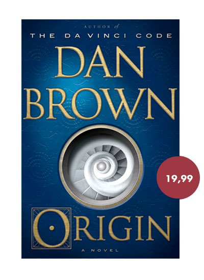 Dan Brown Origin US Cover
