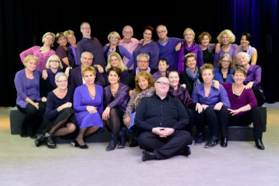Kerstoptreden van het koor Couleurs Vocales