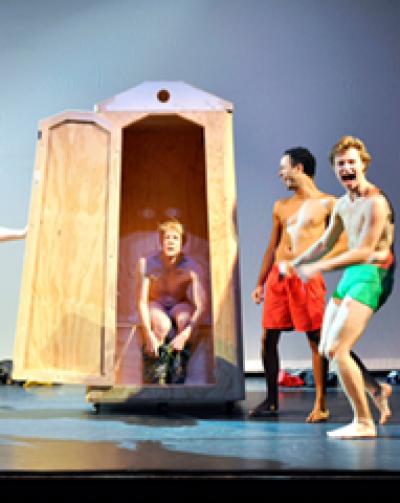 Dissus, verdwaal mee in de Odyssee | 8+ - Theatergroep Kwatta