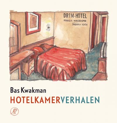 Bas Kwakman presenteert zijn nieuwe boek 'Hotelkamerverhalen'