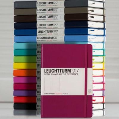 Cadeau-idee! Uw naam op een Leuchtturm notebook
