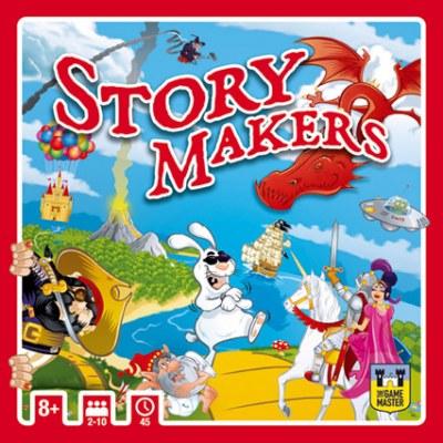 Presentatie van het nieuwe gezelschapsspel 'Story Makers'