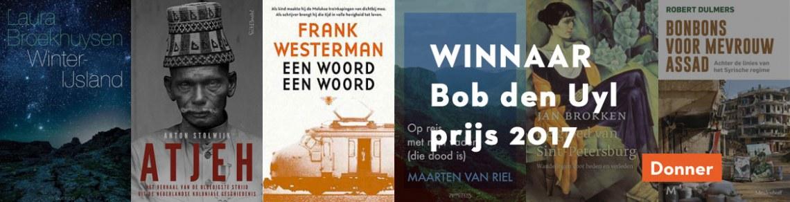 Winnaar Bob den Uyl Prijs 2017