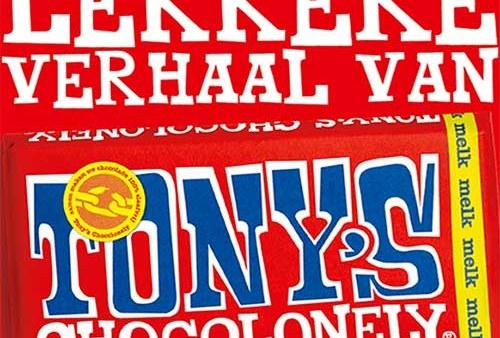 Het wereldschokkende en onweerstaanbaar lekkere verhaal van Tony's Chocolonely