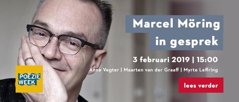 Marcel Möring in gesprek met Anne Vegter, Maarten van der Graaff en Myrte Leffring