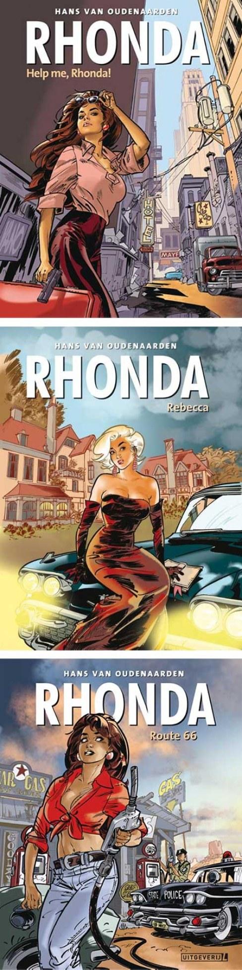 Hans van Oudenaardens Rhonda trilogie