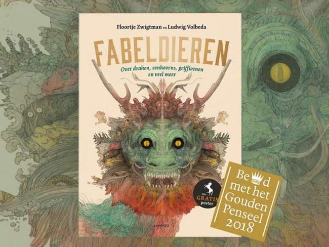 Fabeldieren - Winnaar Gouden Penseel 2018