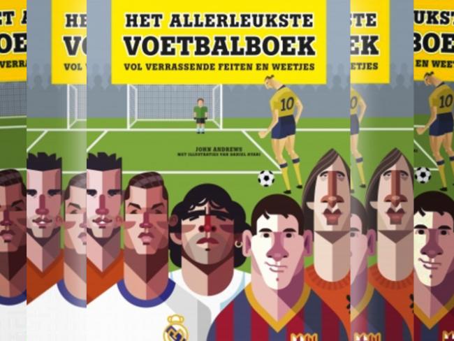 Het allerleukste voetbalboek