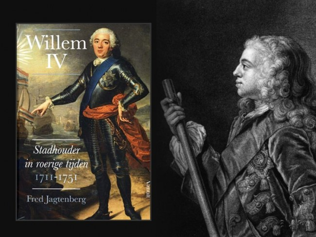 Willem IV stadhouder in roerige tijden