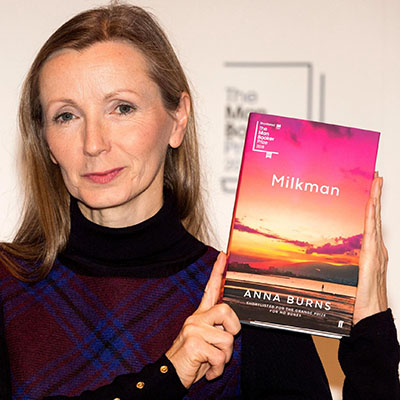 Anna Burns wint Man Booker Prize