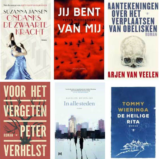 Shortlist BookSpot Literatuurprijs 2018 bekend