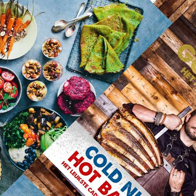 The Green Kitchen at Home  en Smokey Goodness 2 Kookboek van het jaar 2017